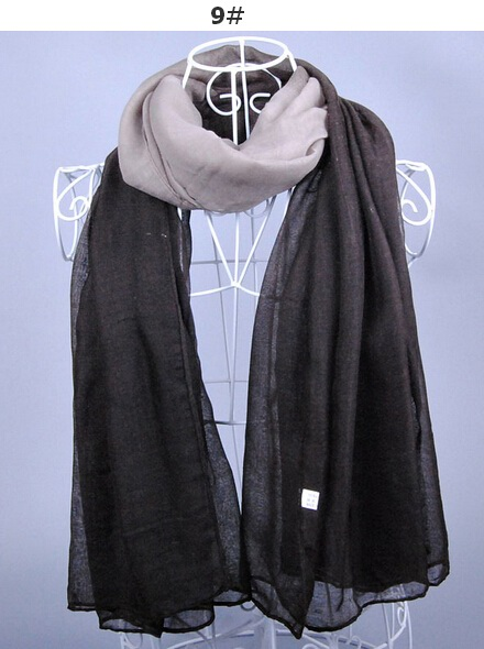 Ombre viscose scarf For Muslims